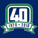 Canucks 40th